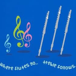 flute_treble_quote_tshirt.jpg?color=Royal&height=250&width=250 ...