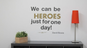 David Bowie Heroes Quote