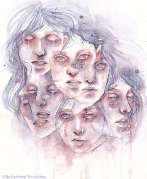 Dissociative identity disorder by SiljaVich