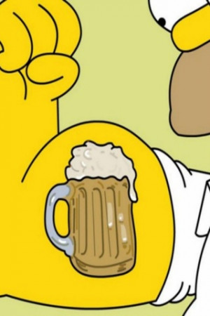 Homer Simpson Quotes Beer Funny Tattoo Designs Crazy