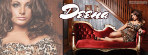 Jersey Shore Deena Animal Print Facebook Cover Layout
