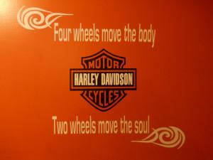 Lance's Christmas Gift - - Harley Davidson Wall Vinyl