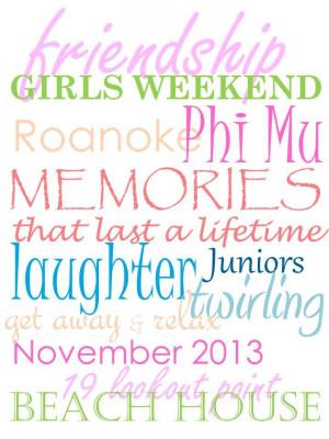 girls weekend roanoke