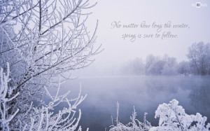Winter Quote