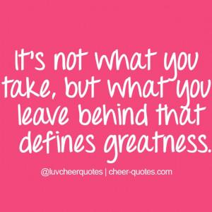 Cute Cheerleading Quotes. QuotesGram