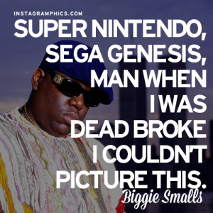 Dead Broke Biggie Smalls Quote Graphic