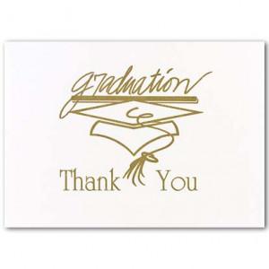 thank you card sayings. Graduation Thank You Sayings