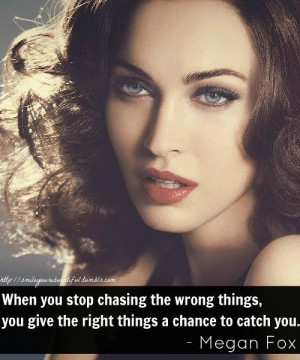 Megan fox famous quotes and sayings wrong things