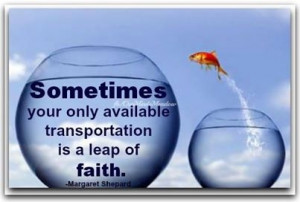 future leap of faith quote