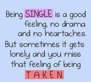 Single...Taken?