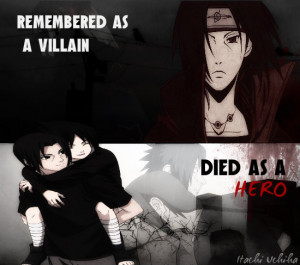 Itachi Uchiha, a hero by EternalxFantasy
