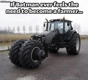 Viewing Page 1/20 from Funny Pictures 1527 (Batman Farm Equipment ...