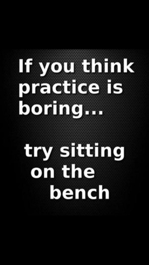 Perfect practice makes perfect! The only difference between practice ...