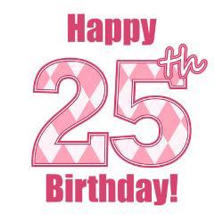 happy_25th_birthday_pink_argyle_greeting_cards_.jpg?height=250&width ...