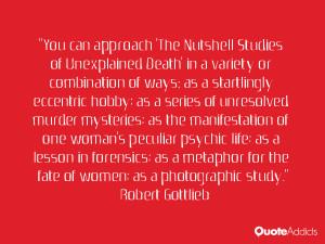 Robert Gottlieb Quotes