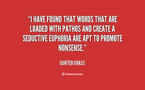 have found that words that are loaded with pathos and create a ...