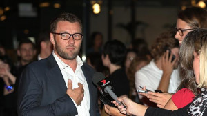 Joel Edgerton at the premiere. Picture Attila Szilvasi. Source: News ...