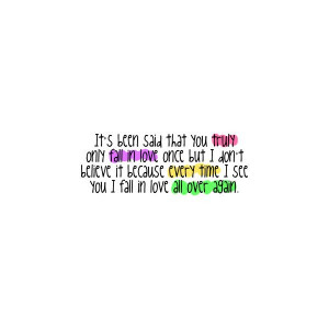 Love Quotes Sweet Teenage Crush And