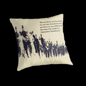 Lisa Briggs › Portfolio › Suffragettes - Emmeline Pankhurst quote