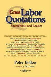Detalles de Great Labor Quotations 9780929349060, Paperback, BRAND NEW ...