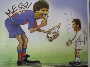 Funny messi pic, funny messi image, fun with messi, messi fun picture ...