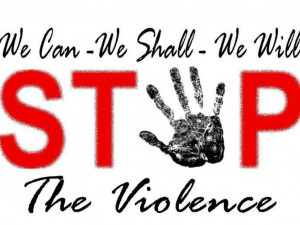 Stop The Violence's video poster