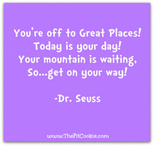 Purple Picture With Quotes And Sayings: Happy Birthday Dr Seuss In ...