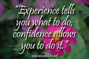 Inspirational Quotes about Confidence