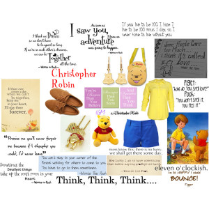 ... on a Disney character, including my favorite Winnie the Pooh quotes