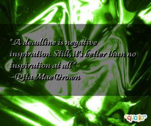 Negative Quotes