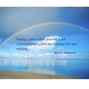 Finding Peace Within Yourself Quotes