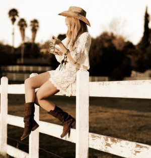 ... country girl lace country girl outfit western boots boots edit tags