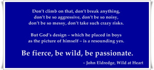 Wild At Heart, John Eldredge
