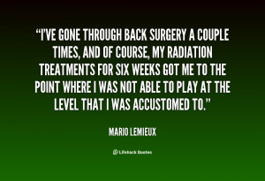 Quotes Back Surgery