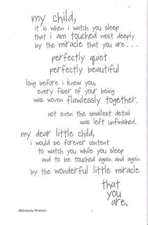 Baby Boy Quotes For Scrapbooking Watching baby sleep poem · found on ...