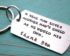 Stepfather Quotes From Daughter Step dad keychain, stepfather