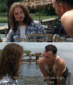 Forrestgump, Movie Scene, Forrest Gump, Quote, Funny, Tom Hanks ...
