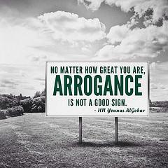 ... arrogant quotes zen squareformat badsign spiritual arrogance omen