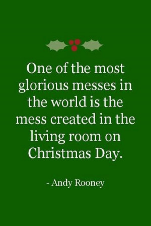 One of the most glorious messes in the world…