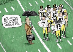 Browns vs. Steelers: Editorial Cartoon for Dec.10