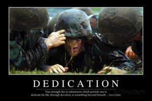 Dedication: Inspirational Quote and Motivational Poster Photographic ...