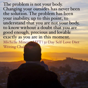 31-Day Self-Love Diet Writing Challenge Facebook Event Image