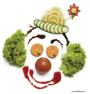 Funny Pictures-Vegetables-Creative-Refreshing-Joker Face-Images-Photos