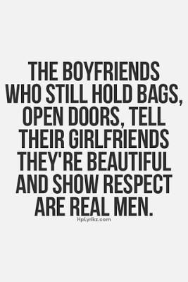 The Boyfriends who still hold bags, open doors, tell their girlfriends ...