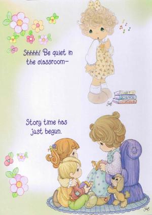 Precious Moments Serie: Maestros ilustraciones tarjetas