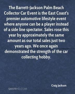Craig Jackson - The Barrett-Jackson Palm Beach Collector Car Event is ...