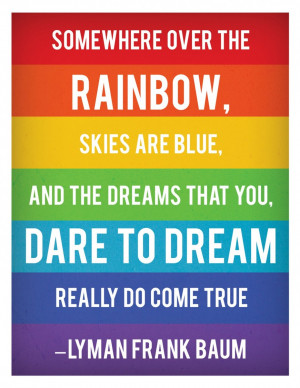 Rainbow Quote About Happiness: Somewhere Over The Rainbow Quote And ...