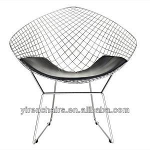 tallique chaise chaise de salon fil r plique de diamants bertoia