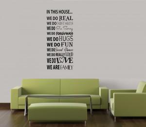 Vinyl Wall Lettering | Vinyl Wall Quotes