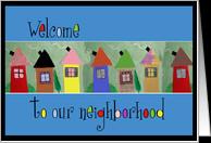 Welcome to the Neighborhood Cards